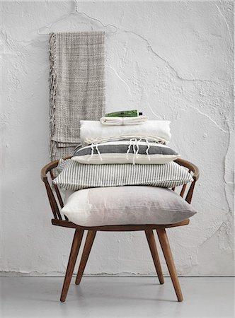 design - Sweden, Vastergotland, Cushions on chair Stock Photo - Premium Royalty-Free, Code: 6126-08643789