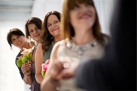 Celebration at wedding reception. Stock Photo - Premium Royalty-Free, Code: 6128-08727712