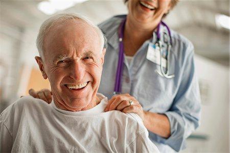 Portrait of a smiling elderly man. Stock Photo - Premium Royalty-Free, Code: 6128-08738304