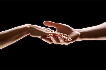 reaching - HANDS Stock Photo - Premium Royalty-Free, Code: 613-07454486