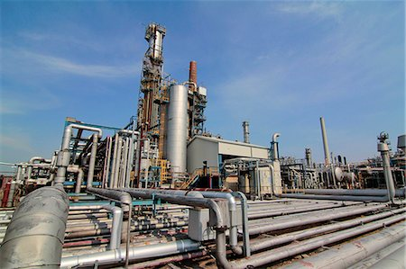 refinery - Oil refinery, Hamburg, Germany Stock Photo - Premium Royalty-Free, Code: 613-07459642