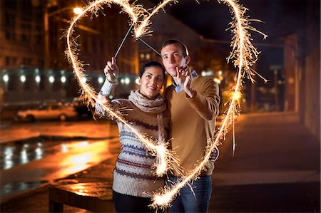 Young Couple in Love Stock Photo - Premium Royalty-Free, Code: 613-07673983