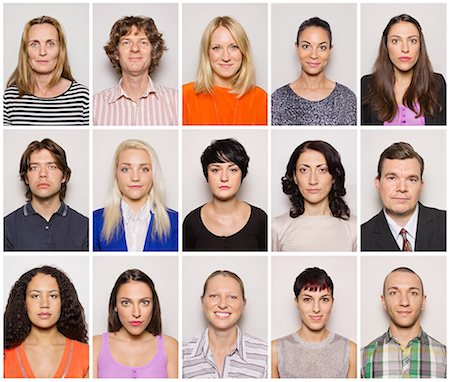 Group of smiling people Stock Photo - Premium Royalty-Free, Code: 613-07780351