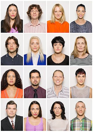 Group of smiling people Stock Photo - Premium Royalty-Free, Code: 613-07780352