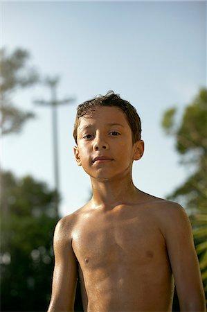 Child near water Stock Photo - Premium Royalty-Free, Code: 613-07780725