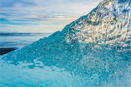 Details of Glacial Ice Stock Photo - Premium Royalty-Free, Code: 613-08056877