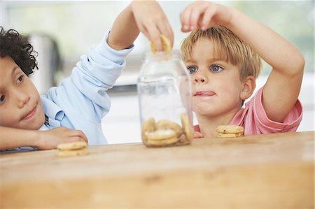 We love cookies Stock Photo - Premium Royalty-Free, Code: 613-08057185