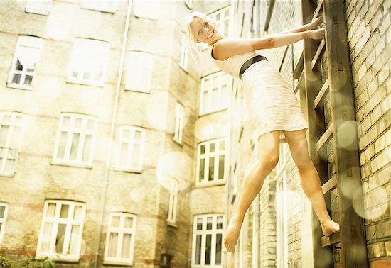 Having some urban fun Stock Photo - Premium Royalty-Free, Image code: 613-08057299