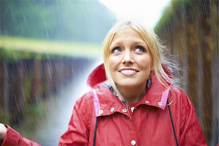 It's started raining! Stock Photo - Premium Royalty-Free, Code: 613-08057650