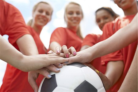 The Red Team Stock Photo - Premium Royalty-Free, Code: 613-08181241
