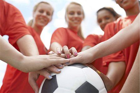footballeur - The Red Team Stock Photo - Premium Royalty-Free, Code: 613-08181241