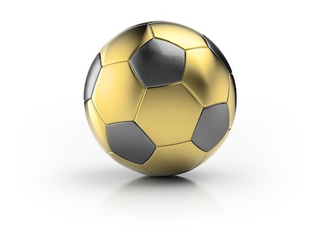 Gold football Stock Photo - Premium Royalty-Free, Code: 613-08234904