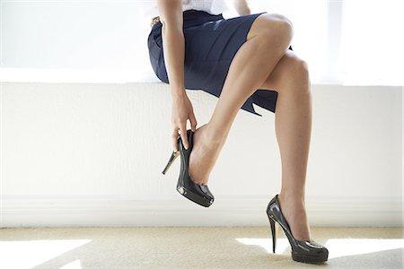 foot model - Power heels Stock Photo - Premium Royalty-Free, Code: 613-08232963