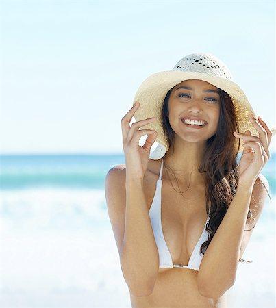 sun - Summer smile Stock Photo - Premium Royalty-Free, Code: 613-08233747