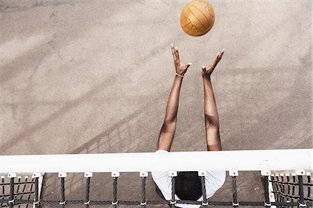 Goalie Catching Soccer Ball Stock Photo - Premium Royalty-Free, Code: 613-08242601