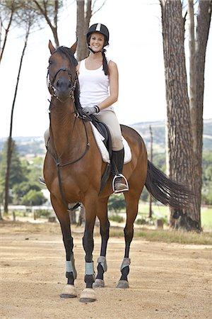 I love to ride Stock Photo - Premium Royalty-Free, Code: 613-08275636