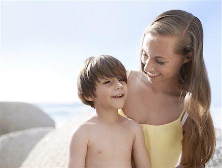 Enjoying the summer holiday Stock Photo - Premium Royalty-Free, Code: 613-08387177