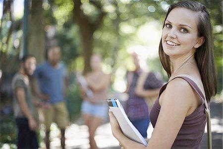 I love university life Stock Photo - Premium Royalty-Free, Code: 613-08392175
