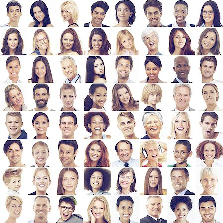 We're all special in our own way Stock Photo - Premium Royalty-Free, Code: 613-08526213