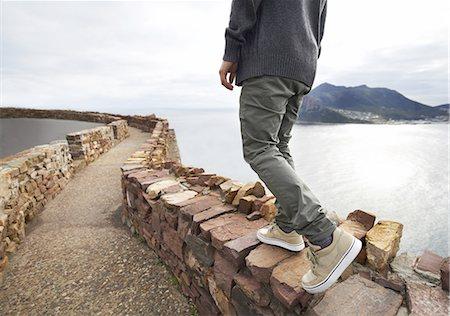 release - Enjoying a solitary walk Stock Photo - Premium Royalty-Free, Code: 613-08526230