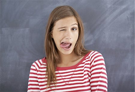 People make funny faces before they sneeze Stock Photo - Premium Royalty-Free, Code: 613-08526281