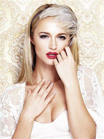 Ravishing in retro Stock Photo - Premium Royalty-Free, Code: 613-08527006