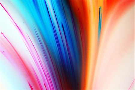 Multi Color Dyes Exploding in Liquid Stock Photo - Premium Royalty-Free, Code: 613-08654621