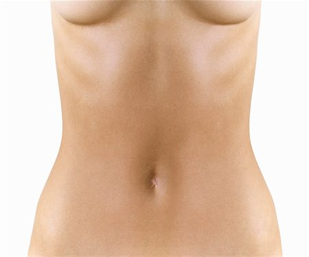 Naked Woman's Stomach Stock Photo - Premium Royalty-Free, Code: 613-00710108