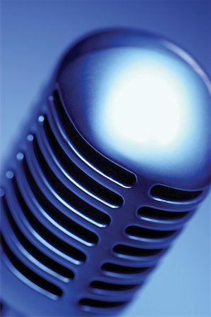 Extreme close-up of microphone Stock Photo - Premium Royalty-Free, Code: 625-00801839