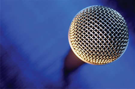 Close-up of microphone Stock Photo - Premium Royalty-Free, Code: 625-00801833