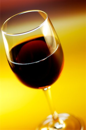 Close-up of wine in a wine glass Stock Photo - Premium Royalty-Free, Code: 625-00802432