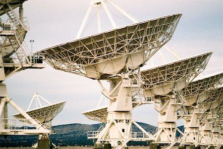 radio telescope - Radio telescopes on a landscape, VLA radio telescope, New Mexico, USA Stock Photo - Premium Royalty-Free, Code: 625-00899067