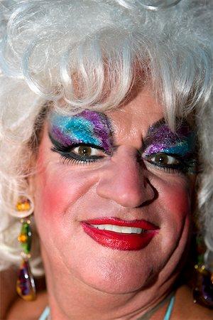 Close-up of a mature gay man smiling Stock Photo - Premium Royalty-Free, Code: 625-01746267