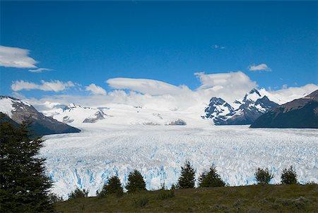 perito moreno glacier - High angle view of a glacier, Moreno Glacier, Argentine Glaciers National Park, Lake Argentino, El Calafate, Patagonia Stock Photo - Premium Royalty-Free, Code: 625-01751571