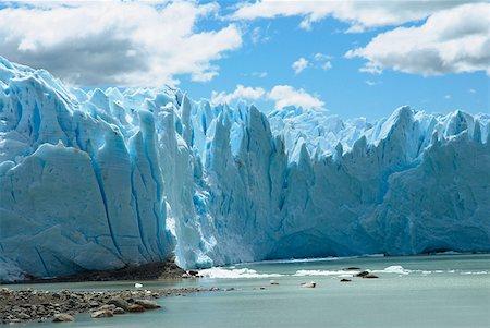 perito moreno glacier - Low angle view of glaciers, Moreno Glacier, Argentine Glaciers National Park, Lake Argentino, El Calafate, Patagonia Stock Photo - Premium Royalty-Free, Code: 625-01751642