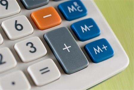 Close-up of a calculator Stock Photo - Premium Royalty-Free, Code: 625-02926722