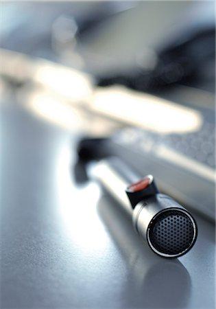 Microphone Stock Photo - Premium Royalty-Free, Code: 628-05817444