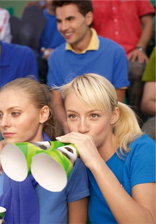 soccer fan - Fans in a soccer stadium Stock Photo - Premium Royalty-Free, Code: 628-05817774