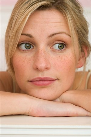 Woman, portrait Stock Photo - Premium Royalty-Free, Code: 628-00918830