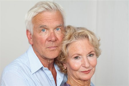 Senior couple side by side Stock Photo - Premium Royalty-Free, Code: 628-03201206