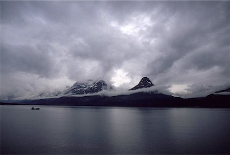 sailing boat storm - Yakutat Bay, Alaska Stock Photo - Premium Royalty-Free, Code: 621-00737750