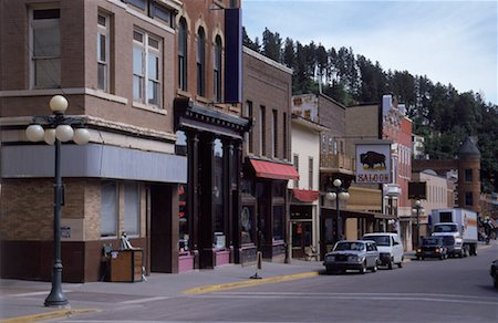 saloon - Western Main Street Stock Photo - Premium Royalty-Free, Code: 621-00739999