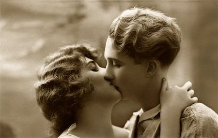 people having sex - Couple Kissing - Archival Stock Photo - Premium Royalty-Free, Code: 621-00730546