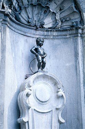 Manneken Pis, Brussels, Belgium Stock Photo - Premium Royalty-Free, Code: 621-00740641