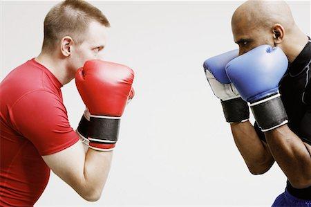 enemy - Two Men Boxing Stock Photo - Premium Royalty-Free, Code: 621-00895040