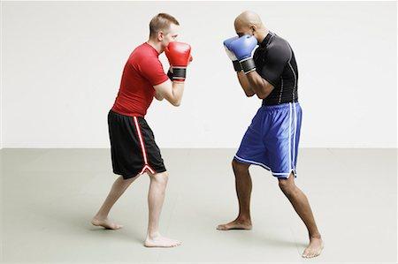 enemy - Two Men Boxing Stock Photo - Premium Royalty-Free, Code: 621-00895041