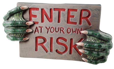 A Demonic Warning Stock Photo - Premium Royalty-Free, Code: 621-01005913