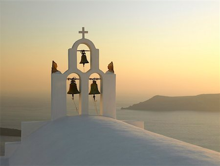 Church Bells in Imerovigli, Santorini, Greece Stock Photo - Premium Royalty-Free, Code: 621-01009602