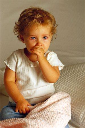 shy baby -  Stock Photo - Premium Royalty-Free, Code: 621-01227660