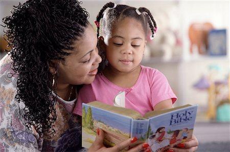 Reading the Bible Stock Photo - Premium Royalty-Free, Code: 621-01229308